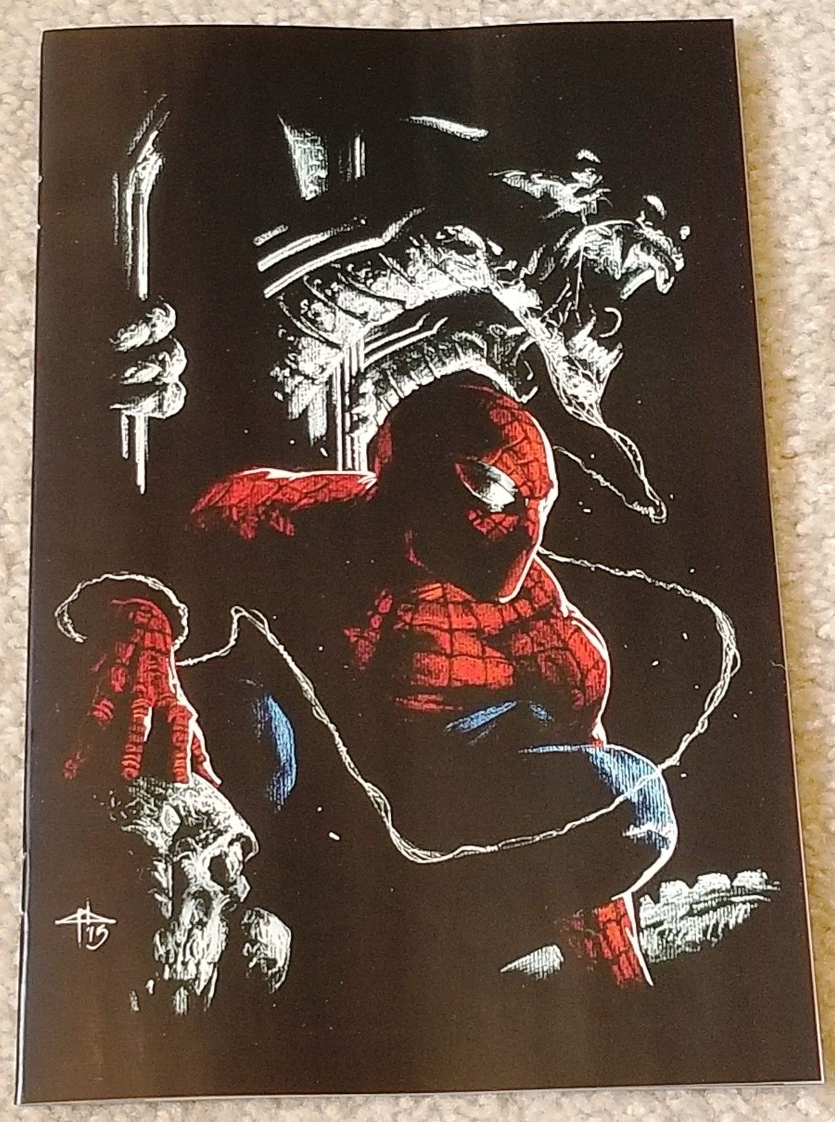 AMAZING SPIDER-MAN #801 GABRIELLE DELL OTTO VIRGIN EXCLUSIVE VARIANT