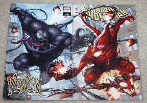 AMAZING SPIDER-MAN #801 VENOM #1 INHYUK LEE LOGO EXCLUSIVE VARIANT SET RED GOBLIN