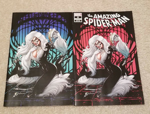 AMAZING SPIDER-MAN #8 JOYCE CHIN BLACK CAT EXCLUSIVE VARIANTS