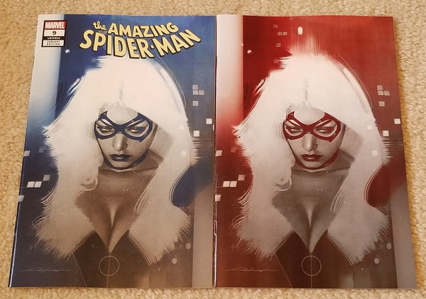 AMAZING SPIDER-MAN #9 JEFF DEKAL BLACK CAT EXCLUSIVE VARIANTS