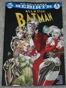 Batman All Star Harley Quinn Poison Ivy