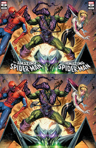 AMAZING SPIDER-MAN #47 TYLER KIRKHAM GREEN GOBLIN INTERLOCKING VARIANTS