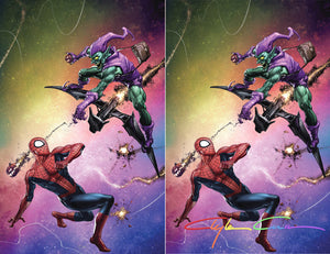 Amazing Spider-man 850 49 NYCC Clayton Crain Green Goblin Silver Surfer Thor Homage Virgin Variant DC Comics Marvel Comics X-Men Batman East Side Comics Virgin Exclusive cgc signed ss comics
