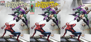SIGNED RAW AMAZING SPIDER-MAN #850 (#49) CLAYTON CRAIN W/ COA SILVER SURFER #4 HOMAGE VARIANTS
