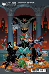 BATMAN THE ADVENTURES CONTINUE SEASON TWO #1 AMANDA CONNER 1:25 INCENTIVE VARIANT