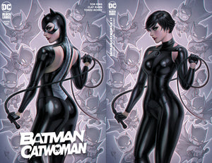 Batman Catwoman 1 Warren Louw Harley Quinn Variant DC Comics Marvel Comics Spider-man X-Men East Side Comics Virgin Exclusive cgc signed ss comics