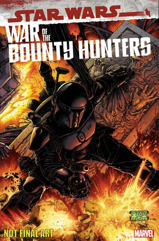 Star Wars War of the Bounty Hunters Alpha 1 Inhyuk Lee Boba Fett Darth Vader Skywalker Virgin Variant DC Comics Marvel Comics X-Men Batman East Side Comics Virgin Exclusive cgc signed ss comics