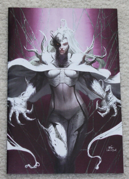 EDGE OF VENOMVERSE #1 INHYUK LEE VENOM WHITE QUEEN EXCLUSIVE VARIANTS