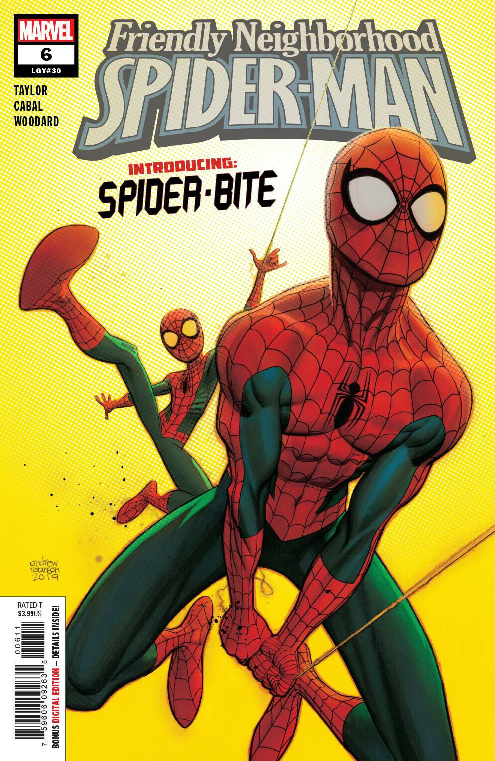 FRIENDLY NEIGHBORHOOD SPIDER-MAN 6 SPIDER-BITE 1st APPEARANCE FIRST SOLD OUT