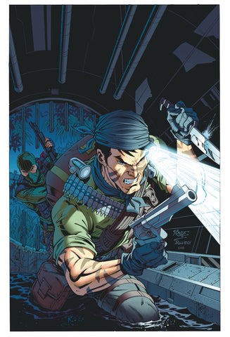 G.I. JOE 273 Mike Mayhew Baroness Snake-Eyes Storm Shadow IDW Virgin Variant DC Comics Marvel Comics X-Men Batman Harley Quinn  East Side Comics Virgin Exclusive cgc signed ss comics