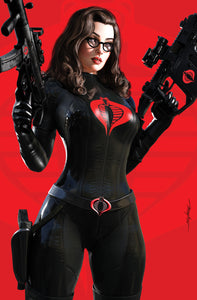 G.I. JOE #275 MIKE MAYHEW BARONESS COMIC CONLINE EXCLUSIVE VIRGIN VARIANT