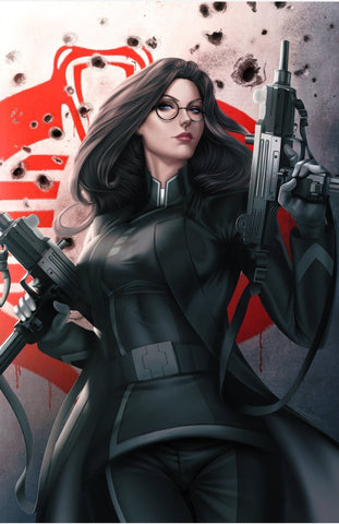 G.I. Joe ARAH 7 Ariel Diaz Baroness Black Red Leather Snake-Eyes Storm Shadow Cobra Commander Virgin Variant IDW Comics DC Comics Marvel Comics East Side Comics KRS Comics Exclusive CGC GI