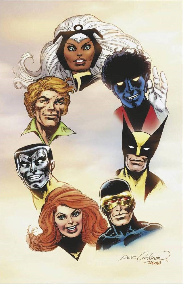 GIANT-SIZE X-MEN TRIBUTE #1 HIDDEN GEM VIRGIN 1:100 INCENTIVE RETAILER VARIANT