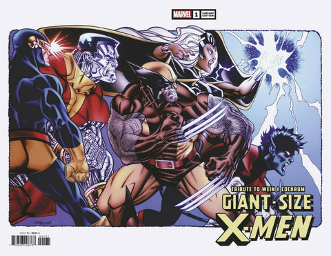 GIANT-SIZE X-MEN TRIBUTE #1 ED MCGUINESS 1:25 WRAP AROUND INCENTIVE RETAILER VARIANT