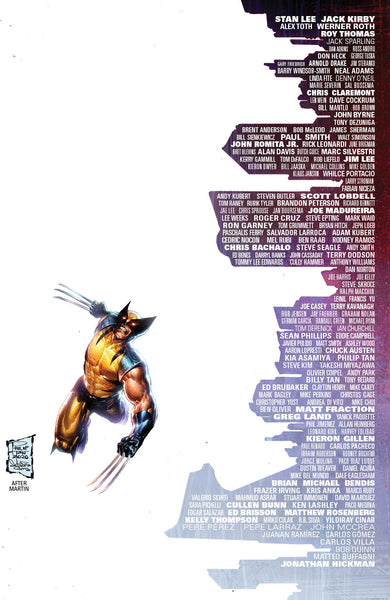 GIANT-SIZE X-MEN TRIBUTE #1 PHILIP TAN WOLVERINE SKYLINE EXCLUSIVE VARIANTS