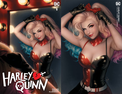 Harley Quinn 1 Warren Louw Natali Sanders Virgin Variant DC Comics Marvel Comics X-Men Batman Joker East Side Comics Virgin Exclusive cgc signed ss comics