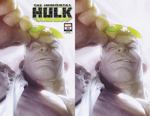 IMMORTAL HULK #22 ALEX GARNER GREY HULK JOE FIXIT EXCLUSIVE VARIANTS