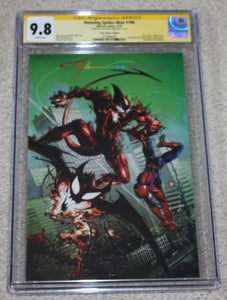 AMAZING SPIDER-MAN #796 CGC SS 9.8 CLAYTON CRAIN INFINITY SIGNED COMICXPOSURE VIRGIN VARIANT