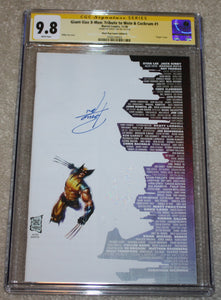 Giant Size X-Men 1 Wolverine Philip Tan Skyline Creator Tribute Virgin Variant DC Comics Marvel Comics X-Men Batman East Side Comics Virgin Exclusive cgc signed ss comics