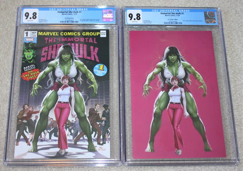 IMMORTAL SHE-HULK #1 CGC 9.8 INHYUK LEE HOMAGE EXCLUSIVE VARIANTS