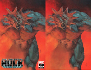 IMMORTAL HULK #19 RICCARDO FEDERICI NEW ABOMINATION EXCLUSIVE VARIANTS