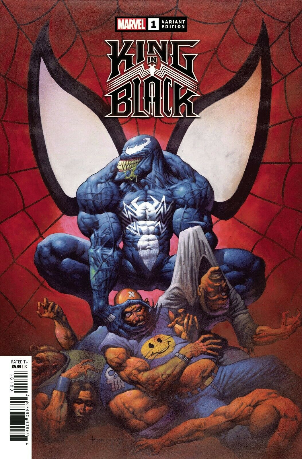 King in Black 1 Clayton Crain Venom Knull Amazing Spider-man Virgin Variant DC Comics Marvel Comics X-Men Batman East Side Comics Virgin Exclusive cgc signed ss comics