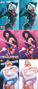 GHOST-SPIDER #9 HELLIONS #1 & MARAUDERS #4 MIKE MAYHEW VARIANT (6-PACK)