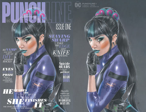 Punchline 1 Harley Quinn Natali Sanders Batman Variant DC Comics Marvel Comics Spider-man X-Men East Side Comics Virgin Exclusive cgc signed ss comics