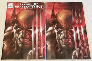 RETURN OF WOLVERINE #1 LUCIO PARRILLO EXCLUSIVE VARIANTS