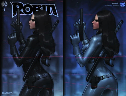 Robin 1 Jeehyung Lee Talia Al Ghul Batman Harley Quinn Virgin Variant DC Comics Marvel Comics X-Men Batman East Side Comics Virgin Exclusive cgc signed ss comics