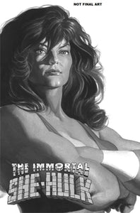 IMMORTAL SHE-HULK #1 ALEX ROSS 1:100 TIMELESS INCENTIVE RETAILER VARIANT
