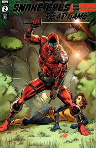 SNAKE-EYES DEADGAME 2 ROB LIEFELD 1:10 RED COSTUME RATIO VARIANT RI-A G.I. JOE