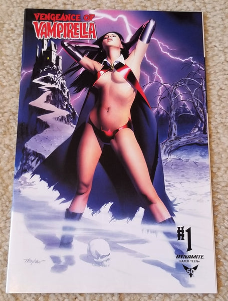 VENGEANCE OF VAMPIRELLA #1 MIKE MAYHEW STUDIO EXCL LOGO & VIRGIN VARIANTS