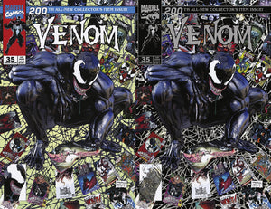 Venom 200 35 Spider-man 1 Mike Mayhew Todd McFarlane Homage Amazing Spider-man Virgin Variant DC Comics Marvel Comics X-Men Batman East Side Comics Virgin Exclusive cgc signed ss comics