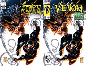 VENOM #26 PHILIP TAN HOMAGE LOGO TRADE DRESS VARIANTS
