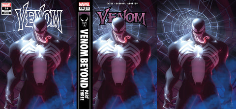 Venom 28 Alex Garner Back in Black Homage Amazing Spider-man Virgin Variant DC Comics Marvel Comics X-Men Batman East Side Comics Virgin Exclusive cgc signed ss comics