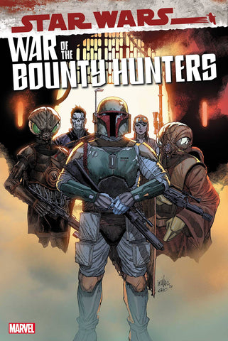 STAR WARS WAR OF THE BOUNTY HUNTERS #1 FRANCIS YU 1:25 INCENTIVE RETAILER VARIANT