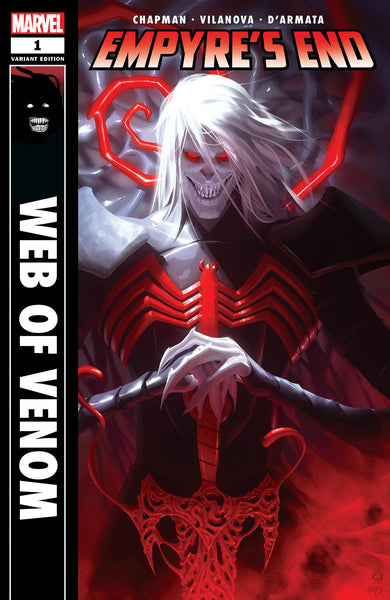 Web of Venom Empyre's End 1 Alex Garner Back in Black Homage Venom Knull Amazing Spider-man Virgin Variant DC Comics Marvel Comics X-Men Batman East Side Comics Virgin Exclusive cgc signed ss comics