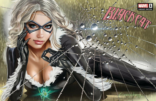 BLACK CAT #1 GREG HORN HORIZONTAL LAYOUT EXCLUSIVE VARIANTS