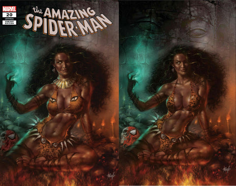 AMAZING SPIDER-MAN #20 LUCIO PARRILLO CALYPSO HUNTED EXCLUSIVE VARIANTS