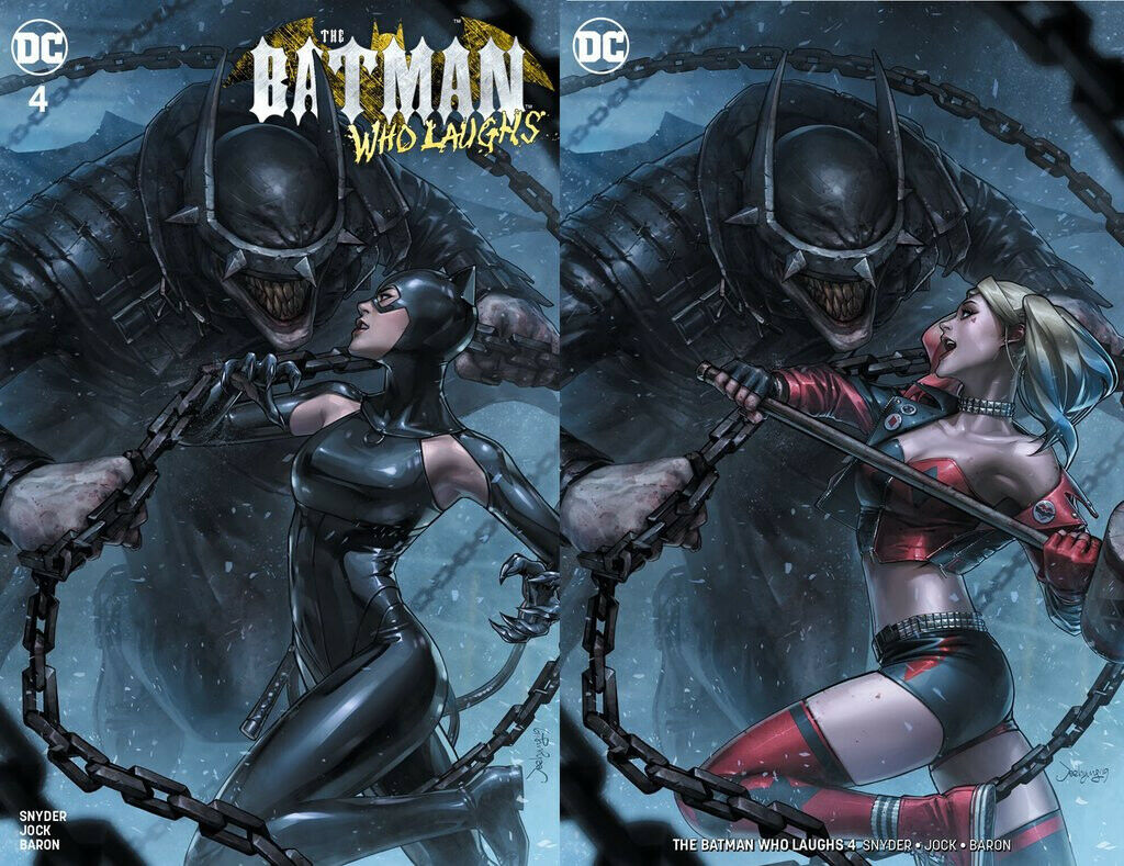 BATMAN WHO LAUGHS #4 JEEHYUNG LEE HARLEY QUINN CATWOMAN EXCLUSIVE VARIANTS