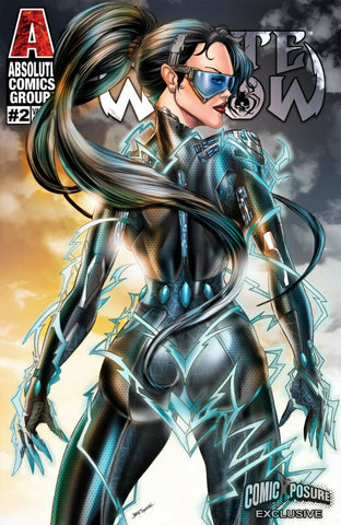 WHITE WIDOW #2 JAMIE TYNDALL PULSE FROM BEHIND COSTUME VARIANT 300 Pt RUN