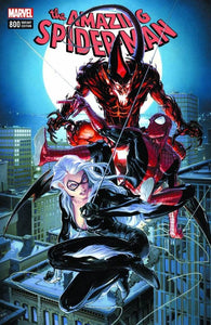 AMAZING SPIDER-MAN #800 CLAYTON CRAIN LOGO EXCLUSIVE VARIANT BLACK CAT RED GOBLIN