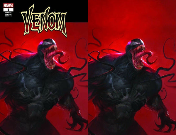 VENOM #1 FRANCESCO MATTINA MEGACON CONVENTION EXCLUSIVE VARIANTS