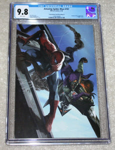 AMAZING SPIDER-MAN 797 CGC 9.8 GABRIELLE DELL OTTO VIRGIN VARIANT-B RED GOBLIN