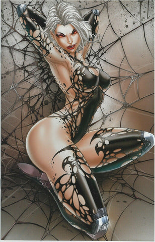 WHITE WIDOW #1 JAMIE TYNDALL 2nd PRINT NAUGHTY VARIANT 200 Pt RUN