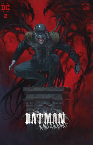 BATMAN WHO LAUGHS #2 RICCARDO FEDERICI WINGED EXCLUSIVE VARIANT