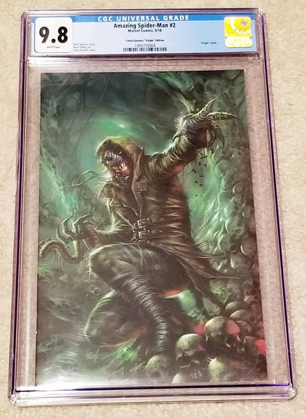 AMAZING SPIDER-MAN #2 CGC 9.8 LUCIO PARRILLO 1st KINDRED COVER APPEARANCE VIRGIN VARIANT