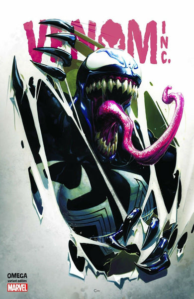 VENOM INC OMEGA 1 CLAYTON CRAIN RIPPED LOGO & BLUE VIRGIN VARIANTS SPIDER-MAN