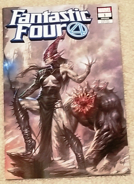 FANTASTIC FOUR #1 LUCIO PARRILLO 1st GRIEVER VILLAIN EXCLUSIVE VARIANTS